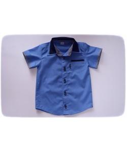 Koszula z krótkim rękawem-...
