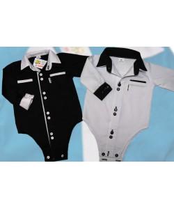 czarne i białe bodo-koszulki na roczek