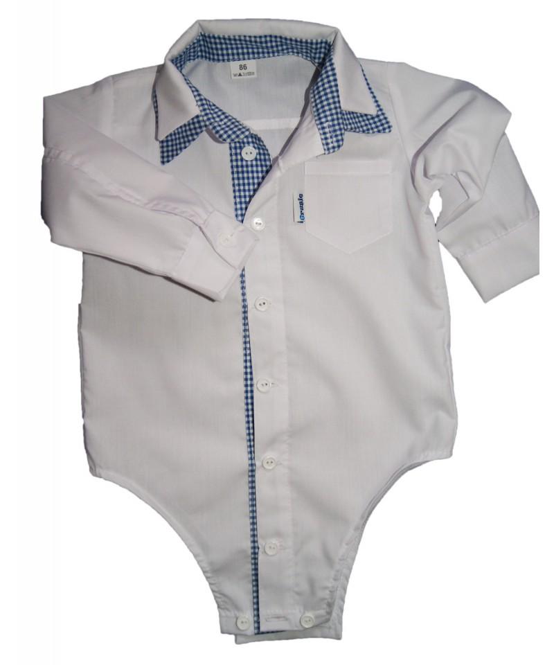 koszulo-body dla chłopca do chrztu