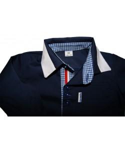 granatowa bodo-koszula dla dziecka