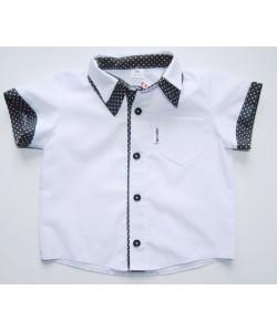 Koszula biała z białymi...