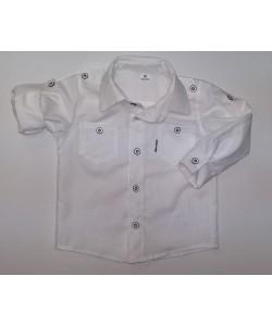 Koszula biała sportowa z...