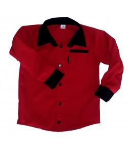Koszula  czerwona z czarnym...