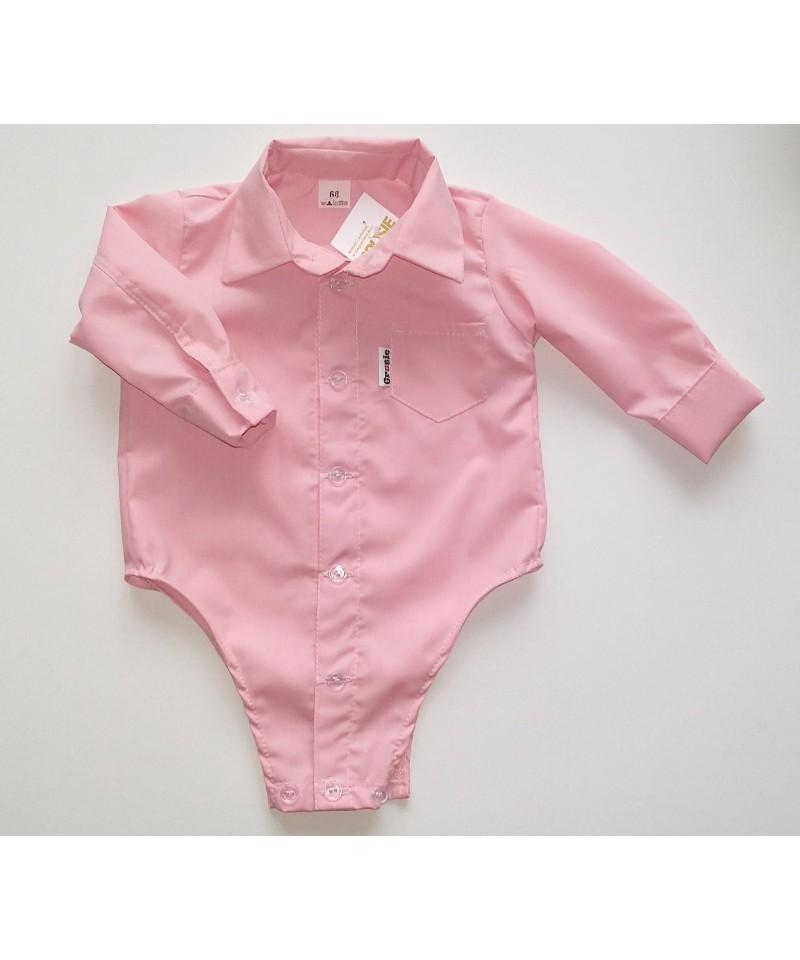 Koszulo-body różowe dla dzieci