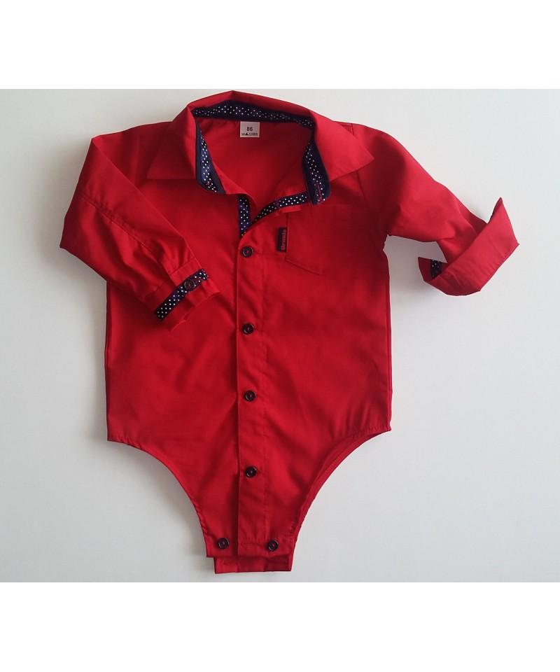 Bodo-koszulka czerwona dla dziecka