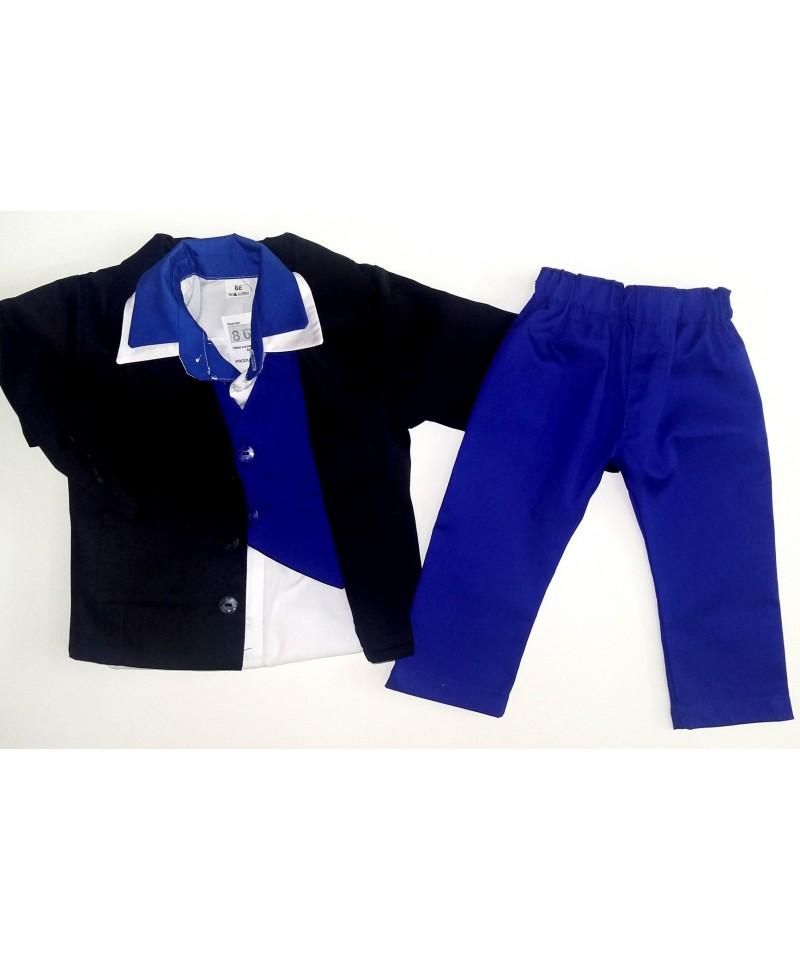 Dwukolorowy garniturek dla dziecka