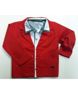 czerwona marynarka dla chłopca