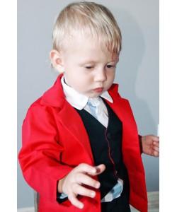 marynarka czerwona dla dziecka