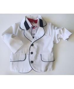 marynarka biała dla dziecka