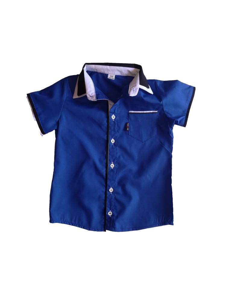 Koszulo-body wizytowe dla chłopców ze stójką