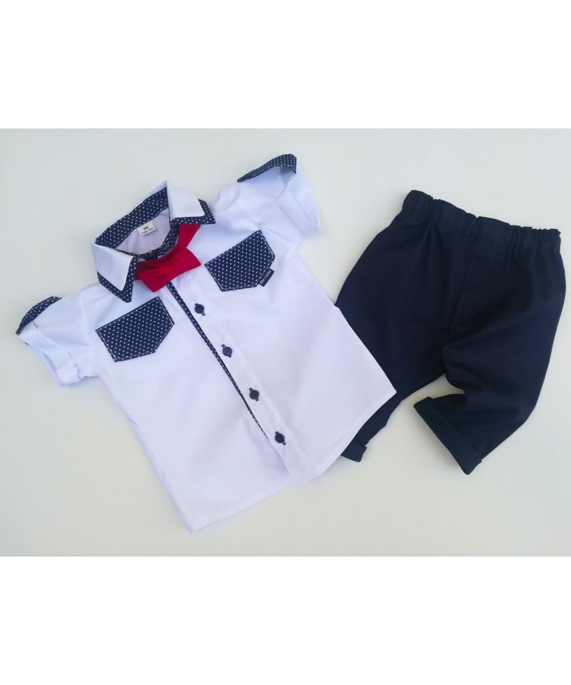Koszula i bermudy dla chłopca