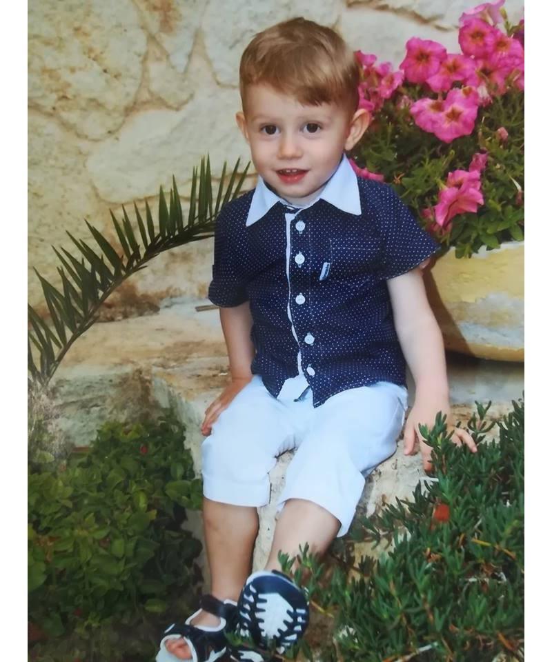 Koszula dla chłopca ze spodenkami