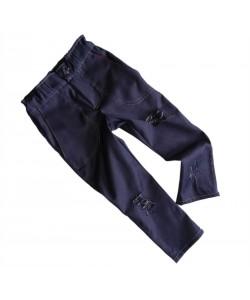 Spodnie jeansowe na gumce