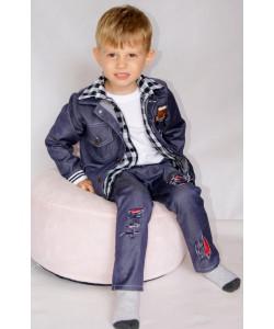 Katana jeansowa, spodnie ze...
