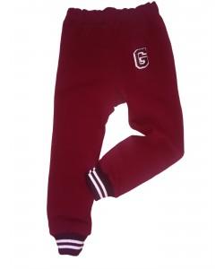 Spodnie dresowe bordowe