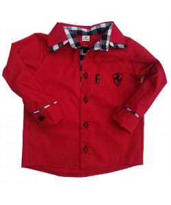 Koszula  czerwona z kratą