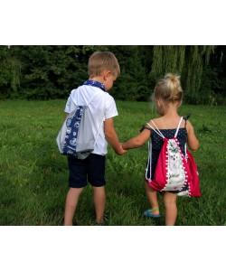 Plecaki dla dzieci i worki na strój lub obuwie