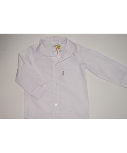 Biała koszula wizytowa dla dziecka