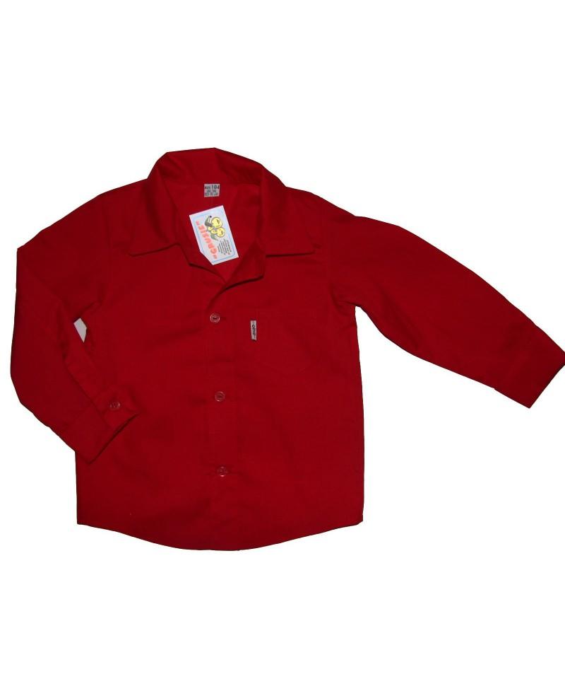 Koszula wizytowa czerwona
