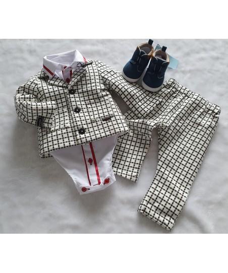 Spodnie dresowe z łatami