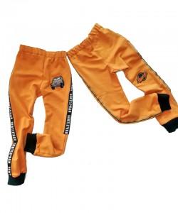 Spodnie dresowe musztardowe