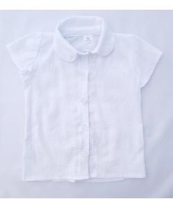 Biała bluzeczka z krótkim rękawem