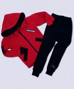 Koszula czerwona z czarną tasiemką