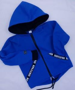 Bluza niebiesko-czarna dla dziecka