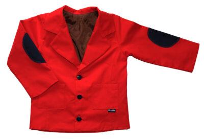 czerwona marynarka sportowa
