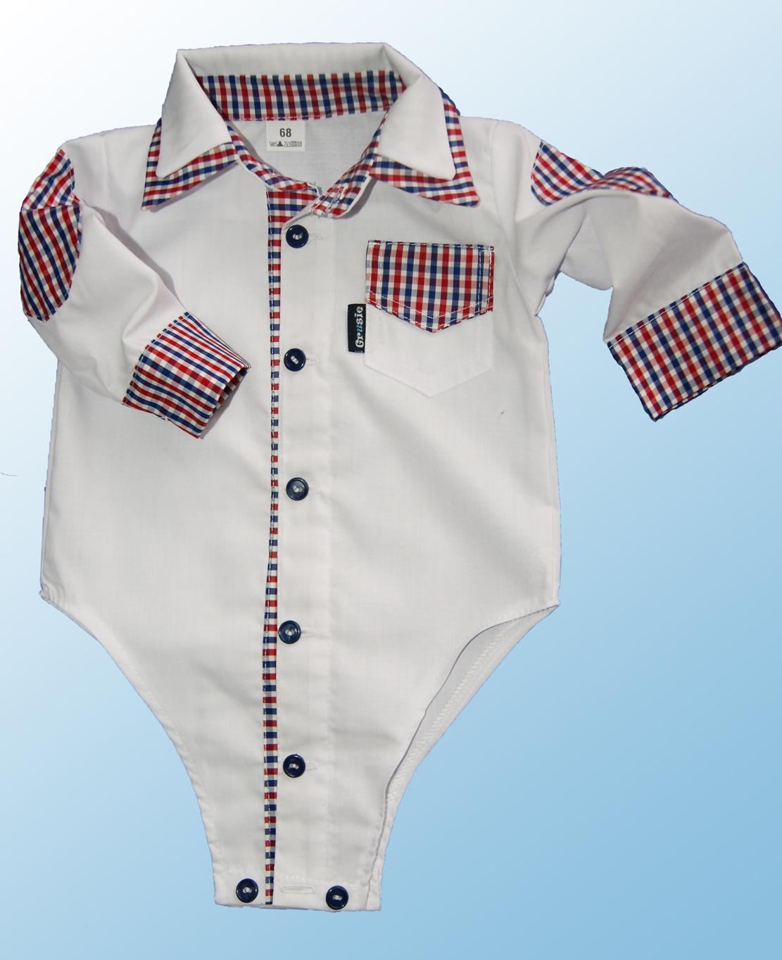 Bod-koszula z łatami - ubrania dla dzieci