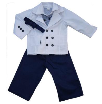 Ubrano do chrztu w stylu marynarskim