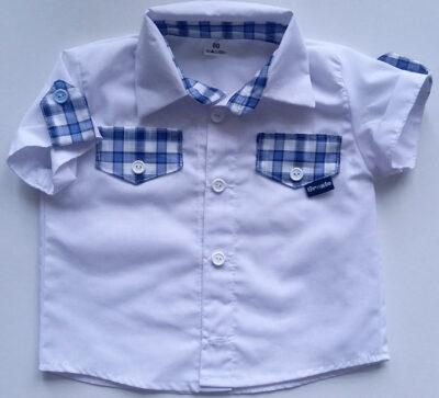 Koszulka biała z krótkim rękawem