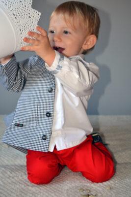 Marynarka dla chłopca