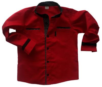 Czerwona koszulka chłopięca