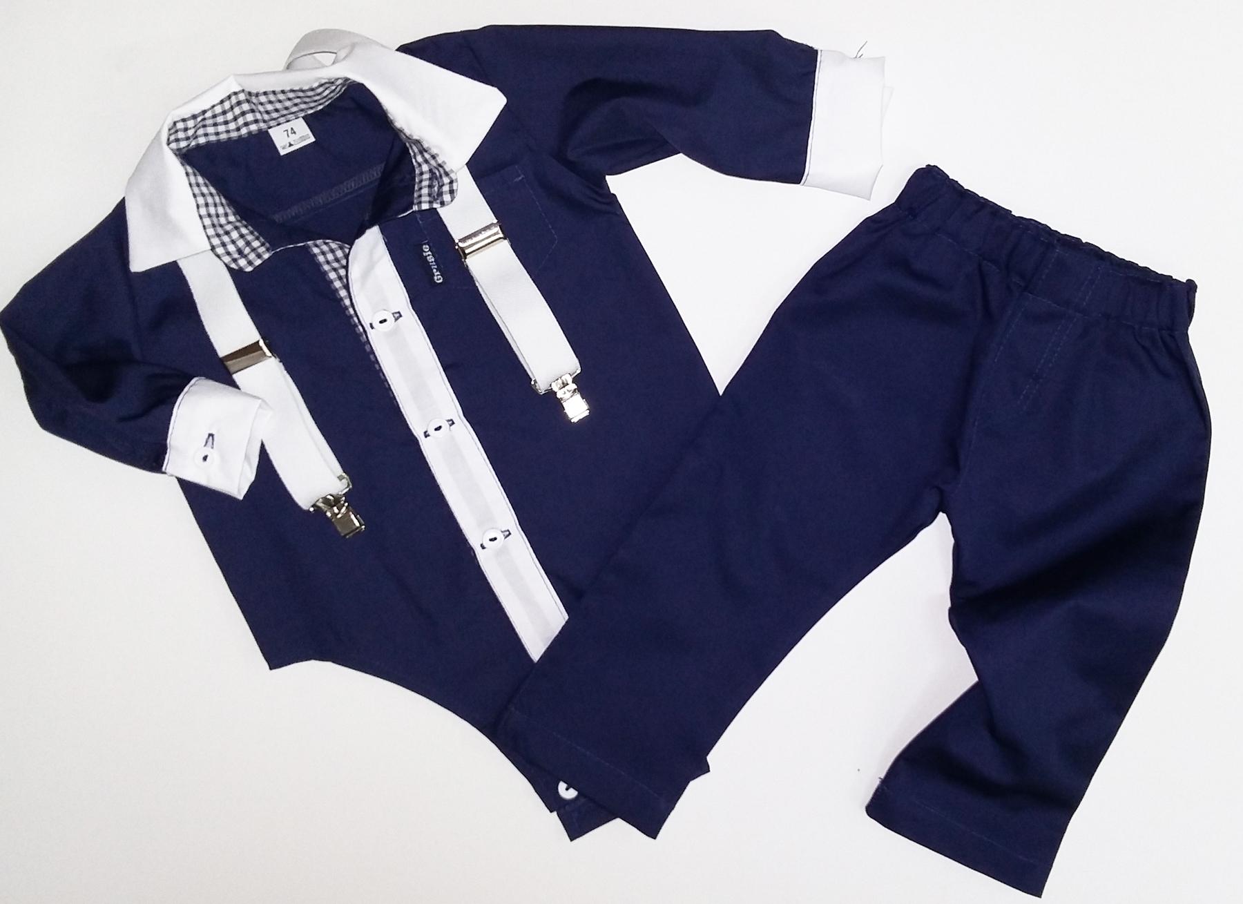 Granatowe ubranko na roczek